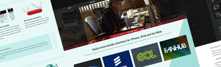 Heading image for Anatomy of the new Hashrocket: Frontend Design