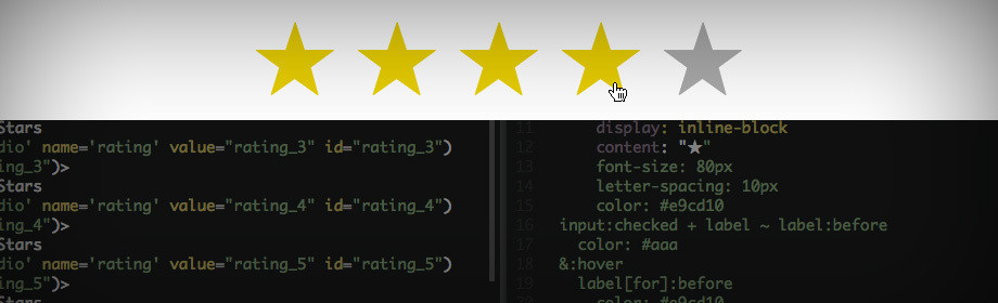 Heading image for post: Easy Star Ratings in CSS