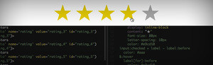 Heading image for Easy Star Ratings in CSS